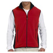 Chestnut Hill Polartec Colorblock Full-Zip Fleece Vest