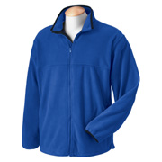 Chestnut Hill Men's Microfleece Full-Zip Jacket