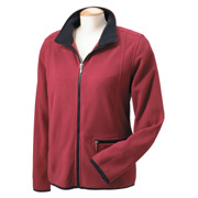 Chestnut Hill Ladies' Microfleece Full-Zip Jacket
