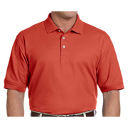 Devon & Jones Men's Pima Pique Short-Sleeve Polo