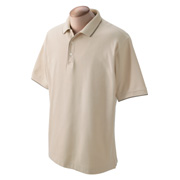 Devon & Jones Men's Tipped Pique Polo