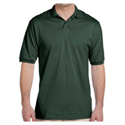 Jerzees Men's 5.6 oz. 50/50 Jersey Polo With SpotShield