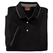 Harriton Men's 5.9 oz. Cotton Jersey Short-Sleeve Polo With Tipping