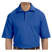 Jerzees Men's 6.5 oz. Ringspun Cotton Pique Polo