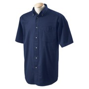 Devon & Jones Men's Short-Sleeve Titan Twill