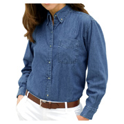 Vantage Women's Woodbridge Denim Shirt