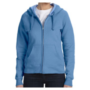 Hanes Ladies' 8 oz. 80/20 ComfortBlend EcoSmart Full-Zip Hood