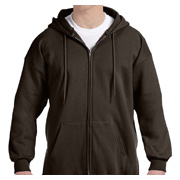 Hanes 10 oz. Ultimate Cotton 90/10 Full-Zip Hood