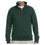 Jerzees 9.5 oz. 50/50 Super Sweats NuBlend Fleece Quarter-Zip Pullover