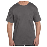 Hanes 6.1 oz. Beefy-T With Pocket