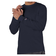 Champion 5.2 oz. Long-Sleeve Tagless T-Shirt