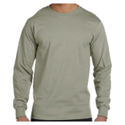 Hanes 6.1 oz. Long-Sleeve Beefy-T