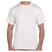 Fruit of the Loom 5 oz., 100% Heavy Cotton HD T-Shirt - White