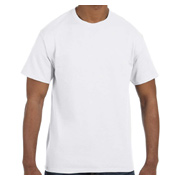Jerzees 5.6 oz. 50/50 Heavyweight Blend T-Shirt - White