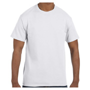 Hanes 6.1 oz. Tagless T-Shirt - White