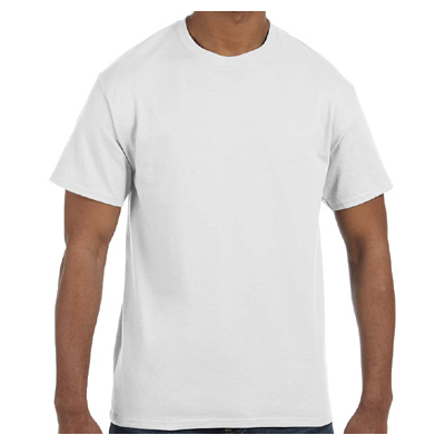Fruit of the Loom 5.6 oz., 50/50 Best T-Shirt - White