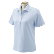 Devon & Jones Ladies' Tipped Pique Polo