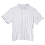 Anvil Ladies' Stain Repel and Release Jersey Polo - White