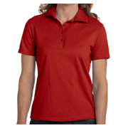 Hanes Ladies' 7 oz. ComfortSoft Cotton Pique Polo