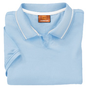 Harriton Ladies' 5.9 oz. Cotton Jersey Short-Sleeve Polo With Tipping