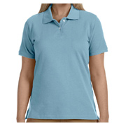Harriton Ladies' 6.5 oz. Ringspun Cotton Pique Short-Sleeve Polo
