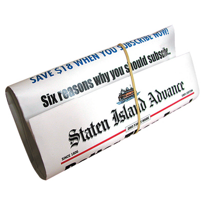 Staten Island Newspaper Wrap