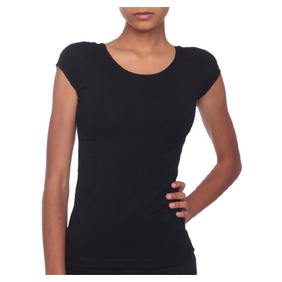American Apparel Cotton Spandex Jersey Aerobic Top