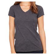 Bella + Canvas Ladies' Jersey Short-Sleeve V-Neck T-Shirt