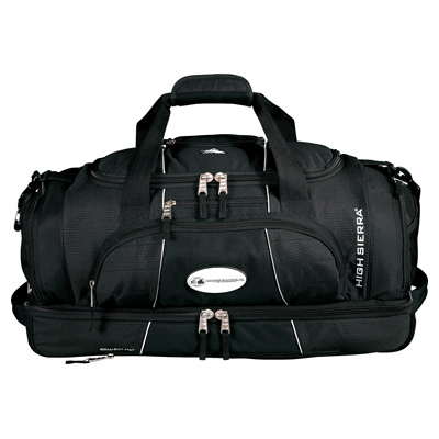 "High Sierra Colossus 26"" Drop Bottom Duffel Bug"