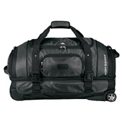 High Sierra Exec Sport Wheeled Duffel With Drop Bottom