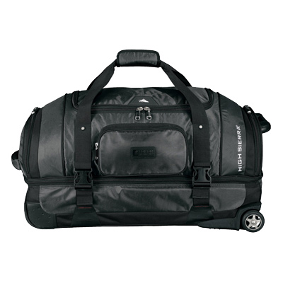 "High Sierra 30"" Drop Bottom Wheeled Duffel Bag"
