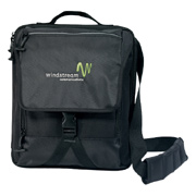 Life in Motion Netbook Vertical Messenger Bag