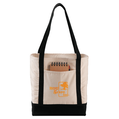 Signature Cotton Boat Tote