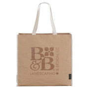 EcoSmart Recycled Paper Non-Woven Large Shopper