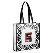 Laminated Non-Woven Retro Convention Tote