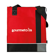 Koozie Tri-Tone Insulated Grocery Tote