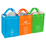 Recycling Bin Tote Set