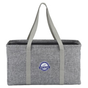 Chevron Oversized Carry-All Tote