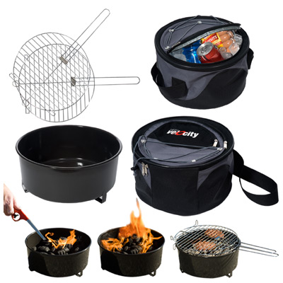 Weekend Explorer Grill and Cooler