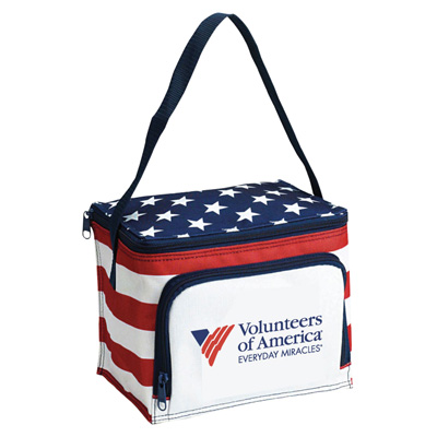 Americana Stars N Stripes 6 Pack Cooler