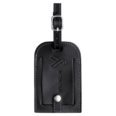 Millenium Leather Identification Tag
