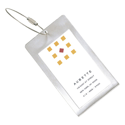 Globe-Trotter Luggage Tag