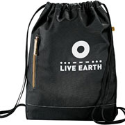 Owl 51% Recycled Cinch Bag