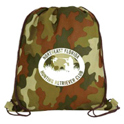 Non-Woven Camo Drawstring Backpack