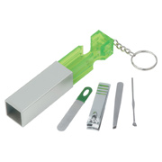 Jewel Manicure Set Key Chain