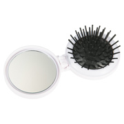 Hair Brush With Lint Brush