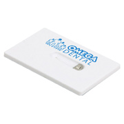 Credit Card Dental Floss With Mirror