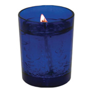 2 oz. Glass Colored Round Votive