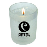 2 oz. Glass Round Votive - Clear