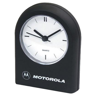 Rounded-Top Desk Clock With Alarm